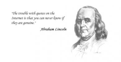 Fake quote