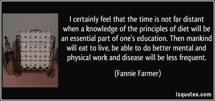 Fannie Farmer's quote #1