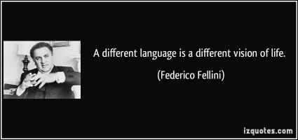 Federico Fellini's quote