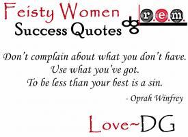 Feisty quote #1