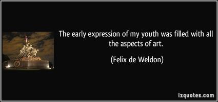 Felix de Weldon's quote