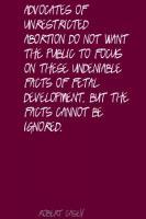 Fetal quote #2