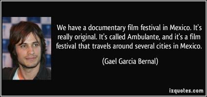 Film Festival quote #2