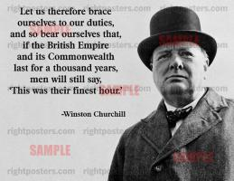 Finest Hour quote #2