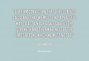 Firm Conviction quote #2