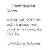 Fitzgerald quote #1