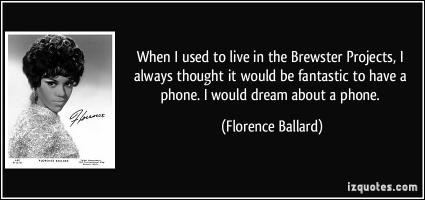 Florence Ballard's quote