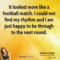 Football Match quote #2