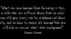 Fostering quote #2