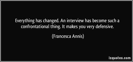 Francesca Annis's quote