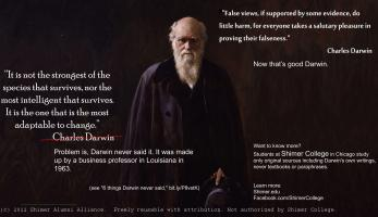 Francis Darwin's quote