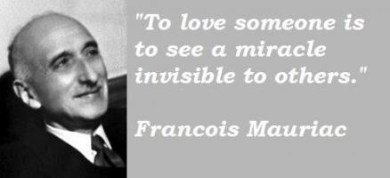 Francois Mauriac's quote