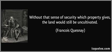 Francois Quesnay's quote