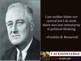 Franklin D. Roosevelt's quote