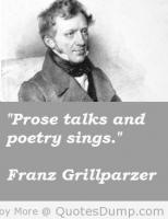 Franz Grillparzer's quote