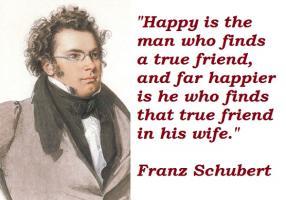 Franz Schubert's quote