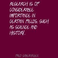 Fred Saberhagen's quote