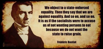 Frederic Bastiat's quote
