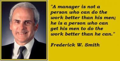 Frederick W. Smith's quote
