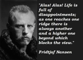 Fridtjof Nansen's quote