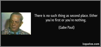 Gabe Paul's quote