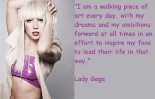 Gaga quote #1