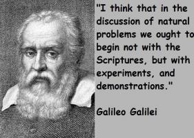 Galileo Galilei's quote