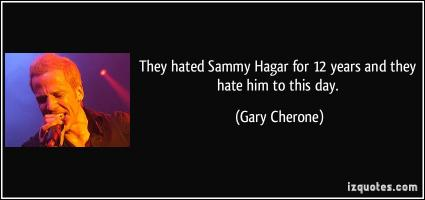 Gary Cherone's quote