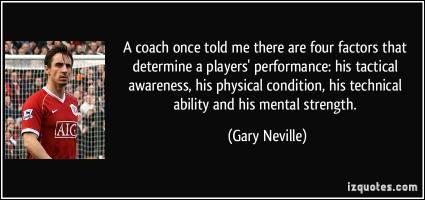 Gary Neville's quote