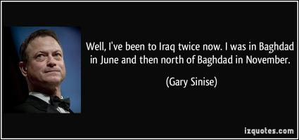 Gary Sinise's quote