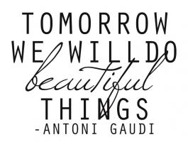 Gaudy quote #1