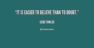 Gene Fowler's quote