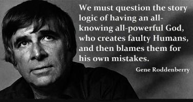 Gene Roddenberry's quote