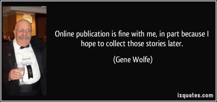 Gene Wolfe's quote