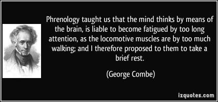 George Combe's quote