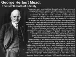 George Herbert Mead's quote #1