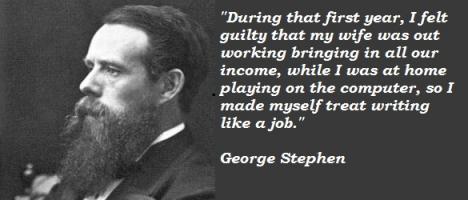 George Stephen's quote