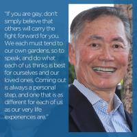George Takei's quote