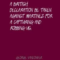George Vancouver's quote