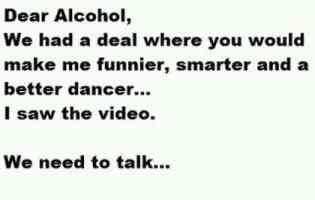 Getting Drunk quote