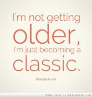 Getting Older quote