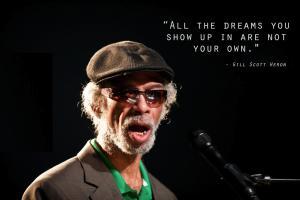 Gil Scott-Heron's quote