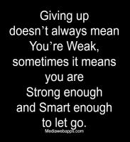 Giving Up quote #2