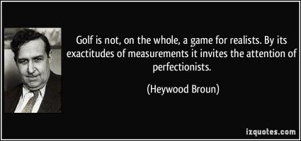 Golf Game quote #2