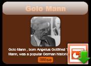 Golo Mann's quote #1