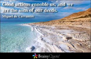 Good Actions quote #2