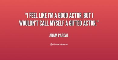 Good Actor quote #2