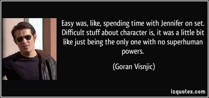 Goran Visnjic's quote #3
