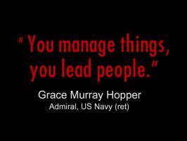 Grace Hopper's quote