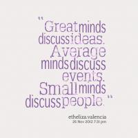 Great Mind quote